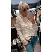 Pull beige Paola